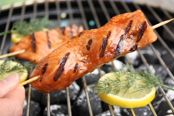 Grilled Fish Sticks
