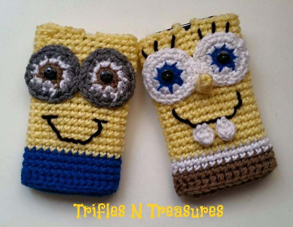 Crochet Character Cell Phone Cases Favecrafts