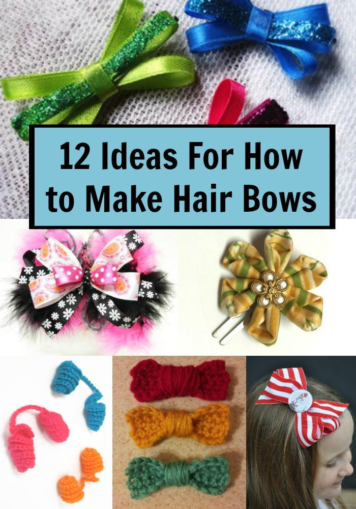 12 Ideas For How to Make Hair Bows | FaveCrafts.com