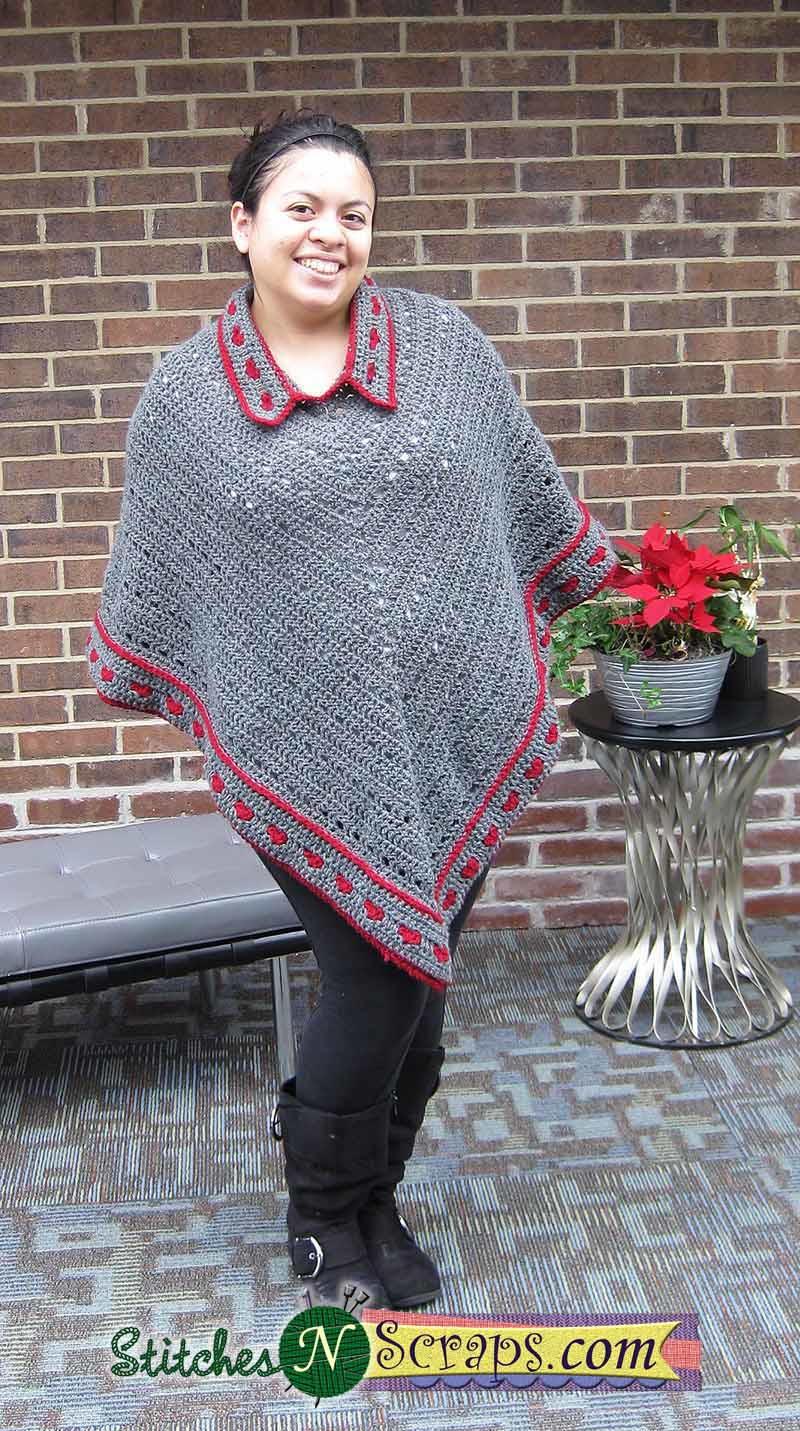 65+ Crochet Poncho Patterns   AllFreeCrochet com