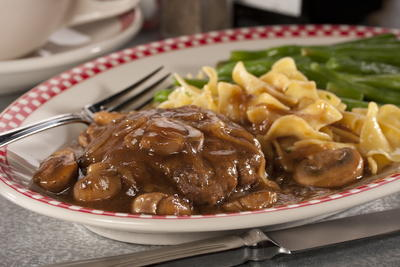 No-Fuss Salisbury Steak