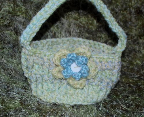 Chunky Little Crochet Basket Pattern Allfreecrochet