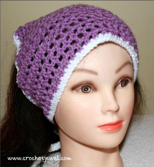 Crochet Head Scarf Pattern Allfreecrochet