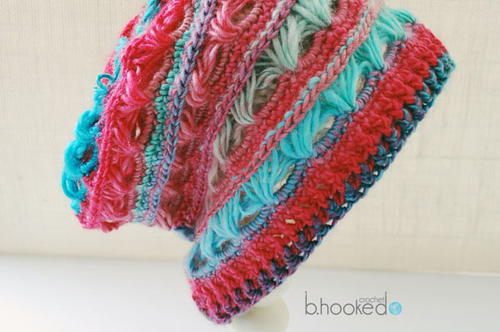 Urban Broomstick Lace Slouchy Allfreecrochet