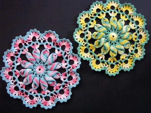 Pretty Pinwheel Doily Pattern Allfreecrochet