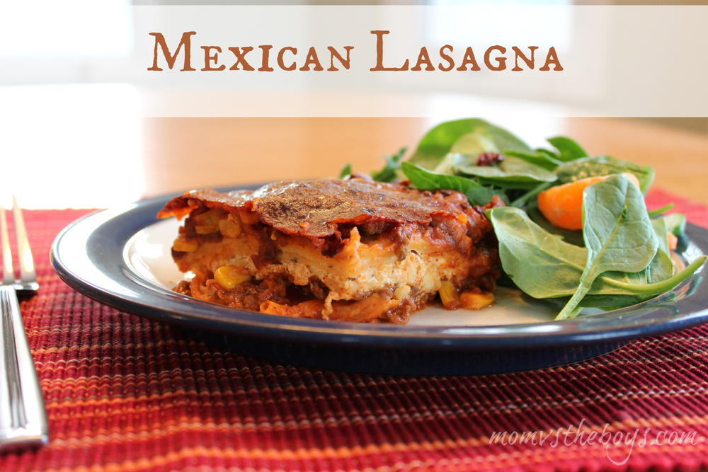 Mexican Tortilla Lasagna | AllFreeCasseroleRecipes.com