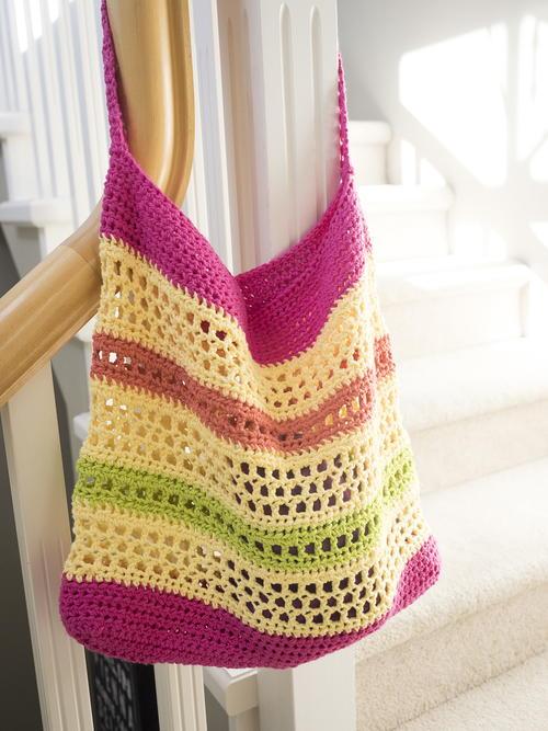 Crochet Beach Tote Bag Allfreecrochet