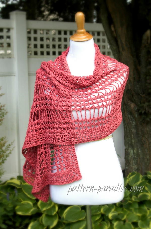 Summer Lace Crochet Wrap Pattern Allfreecrochet