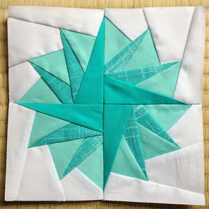 Pom Pom Paper Piecing Tutorial