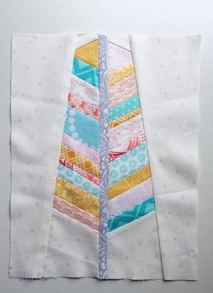 Feather Paper Piecing Pattern