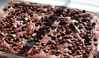 4 Ing Chocolate Dump Cake