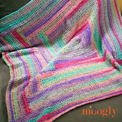 24 Free Easy To Crochet Afghan Patterns