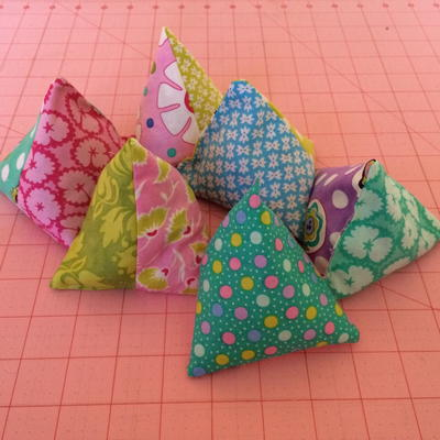Sew a Gorgeous Set of Pattern Weights