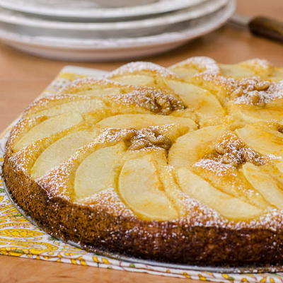 Old-Fashioned German Apple Cake