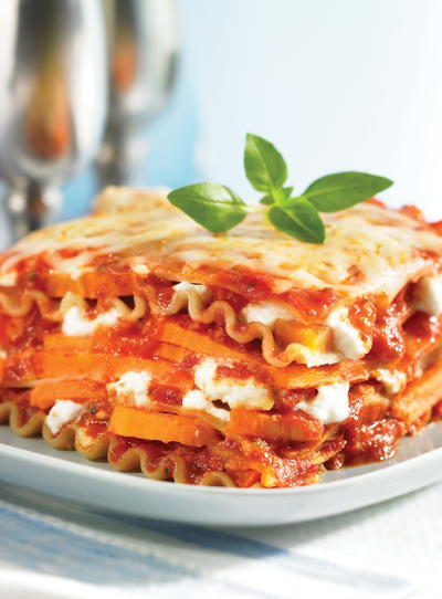 Slow Cooker Sweet Potato Lasagna