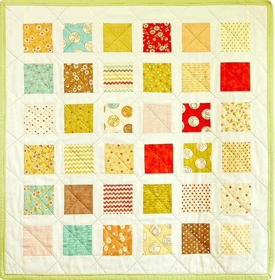 Whimsical Charm Pack Baby Quilt