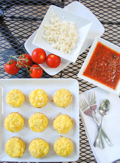 Slender Mexican Hashbrown and Egg Muffins