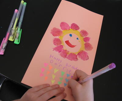 Easy Handmade Birthday Card