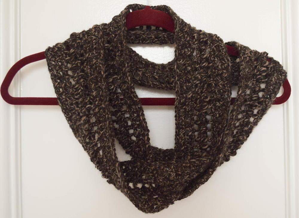 Softest Alpaca Crochet Infinity Scarf Allfreecrochet