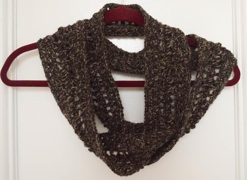Softest Alpaca Crochet Infinity Scarf | AllFreeCrochet.com