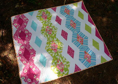 Princess Kate Diamond Quilt Pattern