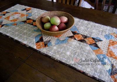 Harvest Home Table Runner