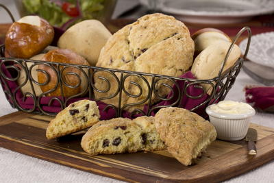 Old-Fashioned Cranberry Scones