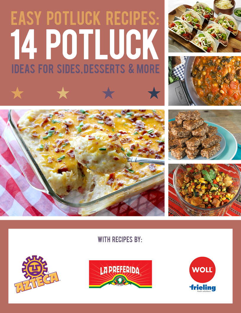 easy potluck recipes: 14 potluck ideas for sides, desserts and more