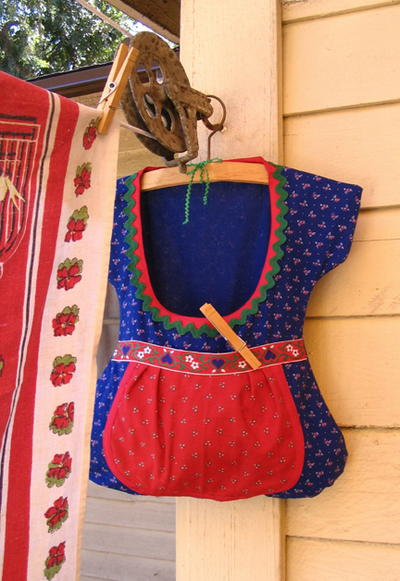 Dirndl Clothespin Bag AllFreeSewing Custom Clothespin Bag Pattern