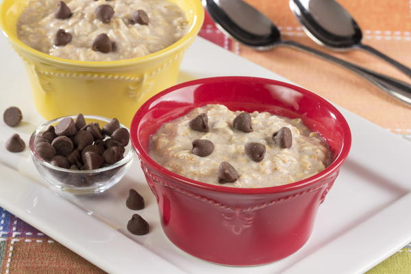 Overnight Cookie Dough Oatmeal