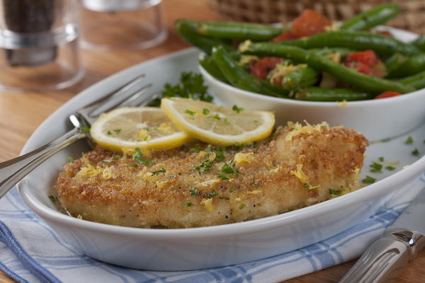Parmesan-Crusted Pork
