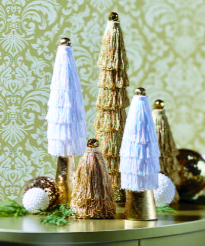 Vintage Christmas Mini Trees