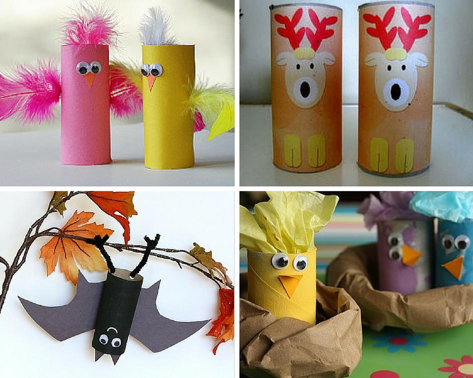 Animal Crafts For Kids 27 With Toilet Paper Rolls