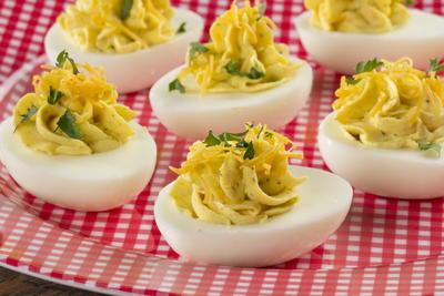Picnic Time Deviled Eggs