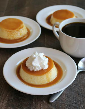 Slow Cooker Caramel Flan Recipe