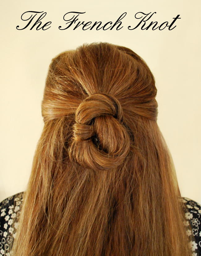 Fabulous French Knot Wedding Hairstyle ...