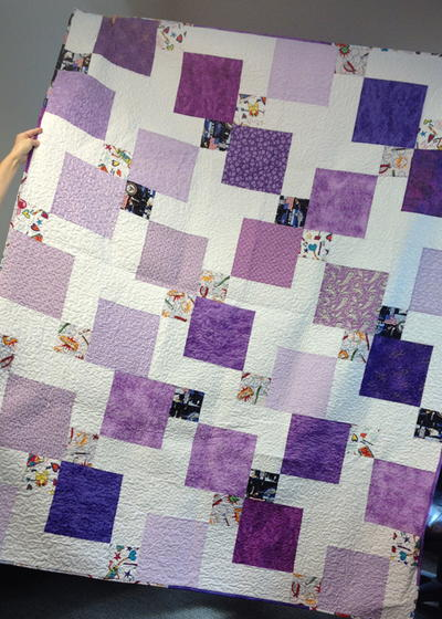 18 Stunning Disappearing Nine Patch Patterns | FaveQuilts.com : nine block quilt pattern - Adamdwight.com