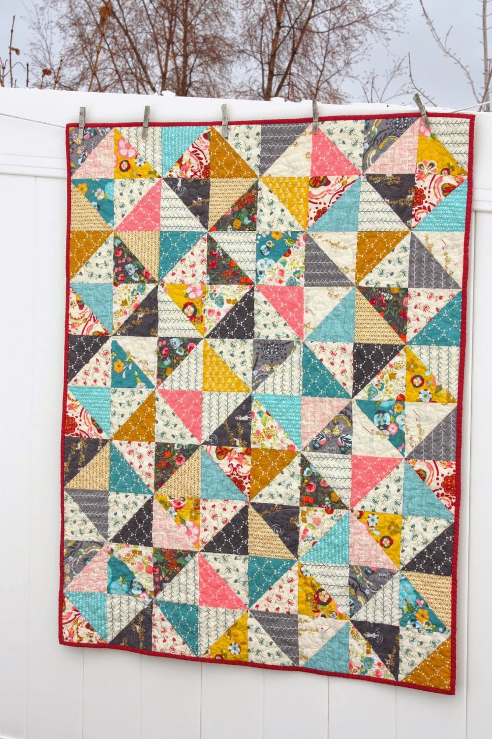 Broken Dishes Quilt Patterns Favequilts Com