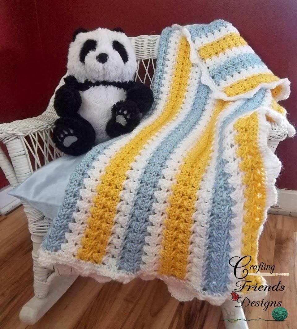 X Stitch Crochet Baby Blanket Pattern