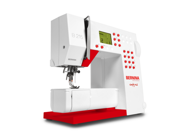 BERNINA 215 Simply Red Sewing Machine Review