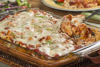 Pasta bake recipes 50 easy pasta casseroles mrfood baked rigatoni forumfinder Image collections