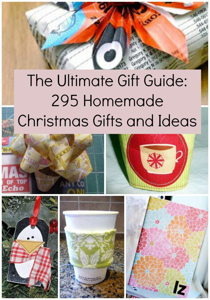 The ultimate gift guide 295 homemade christmas gifts and Christmas present homemade gift ideas