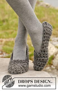 Quick and Easy Crochet Slipper Socks