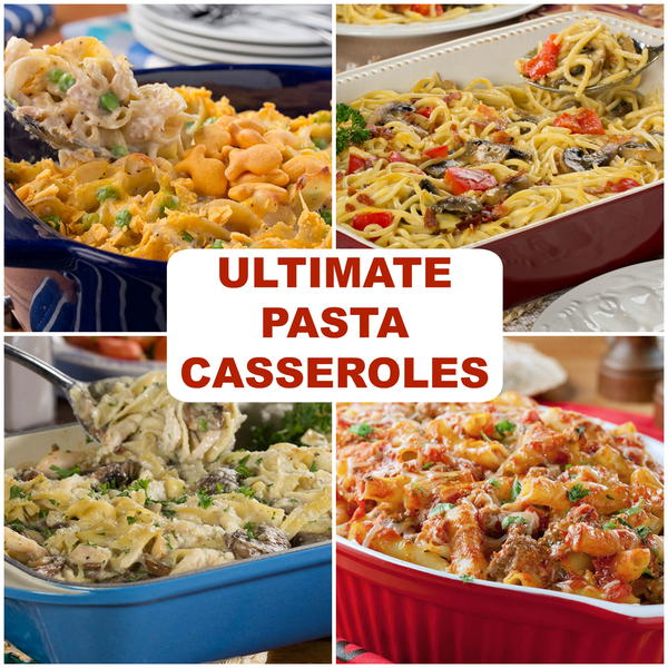 Easy Pasta Bake Recipes: 29 Ultimate Pasta Casseroles