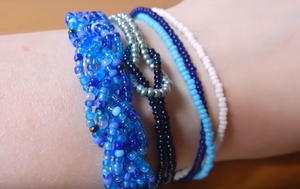 Three Seed Bead Bracelet Patterns