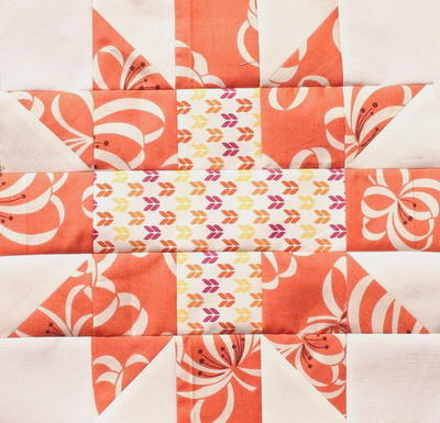 Star Crossed Quilt Block