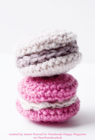 Cute Crochet Macarons