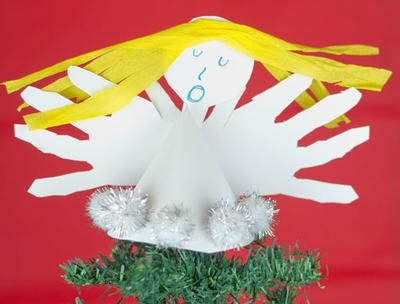 Handprint Angel Craft