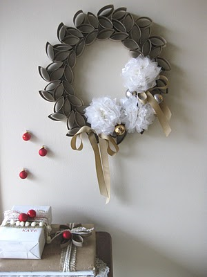 be sure to hang your wreath indoors as it is not waterproof