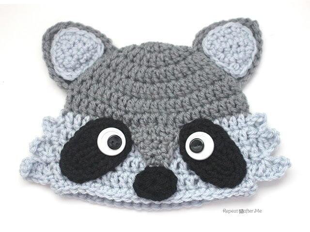 Amigurumi Patterns Disney : Crochet animal hats free crochet hat patterns for kids